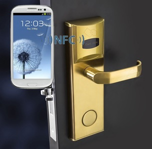 NFC mobile phone lock key